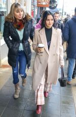 Camila Mendes Is seen in Park City