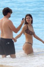 Camila Morrone On the beach in St. Barts