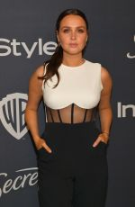 Camilla Luddington At Warner Bros. & InStyle Golden Globe After Party in Beverly Hills