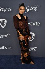 Candice Patton At Warner Bros. & InStyle Golden Globe After Party in Beverly Hills