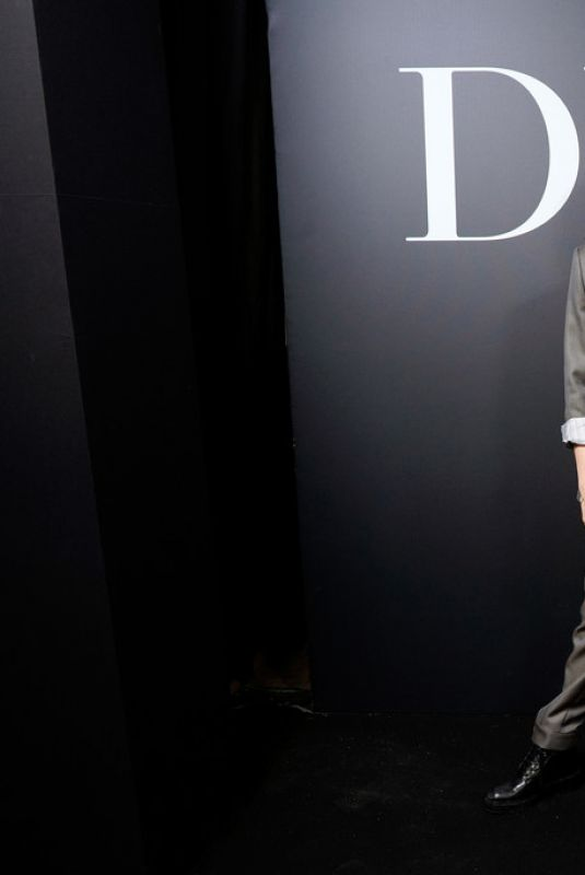 Cara Delevingne At Dior Homme Menswear F/W 20-21 show - Paris Fashion Week
