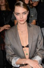 Cara Delevingne At Frontrow Men fashion show F/W 2020/2021 Dior Homme in Paris