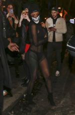 Cardi B Arrives at Laundered Works corp show during Paris Fashion Week in Paris