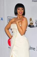 Cardi B At Clive Davis and Recording Academy Pre-Grammy Gala