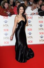 Carina Lepore At 25th National Television Awards, Arrivals, O2, London