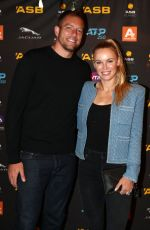 Caroline Wozniacki At 2020 ASB Classic Players Party in Auckland, New Zealand