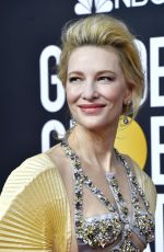 Cate Blanchett At 77th Annual Golden Globe Awards in Beverly Hills