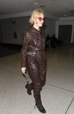 Cate Blanchett At LAX Airport