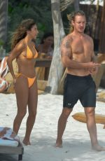 Chantel Jeffries Seen on her vacation in Tulum, Mexico
