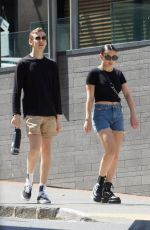 Charli XCX And band mates seen out in Auckland