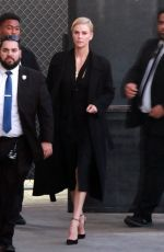 Charlize Theron Arrives at the El Capitan Entertainment Centre in Hollywood