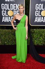 Charlize Theron At 77th Annual Golden Globe Awards in Beverly Hills