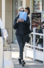 Charlize Theron Heads to a meditation class in Beverly Hills