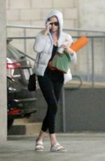 Charlize Theron Leaving yoga class in LA