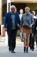 Charlize Theron Seen outside the Cinemark in Marina Del Rey