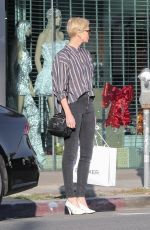 Charlize Theron Shopping in Hollywood