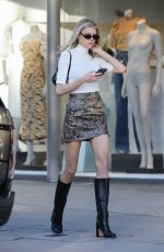 Charlotte McKinney Out in Beverly Hills