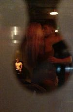 Chloe Ferry Passionately Kisses Louis Shaw During Filming of Geordie Shore