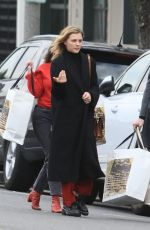 Chloe Grace Moretz Seen heading to her car after grocery shopping in Beverly Hills