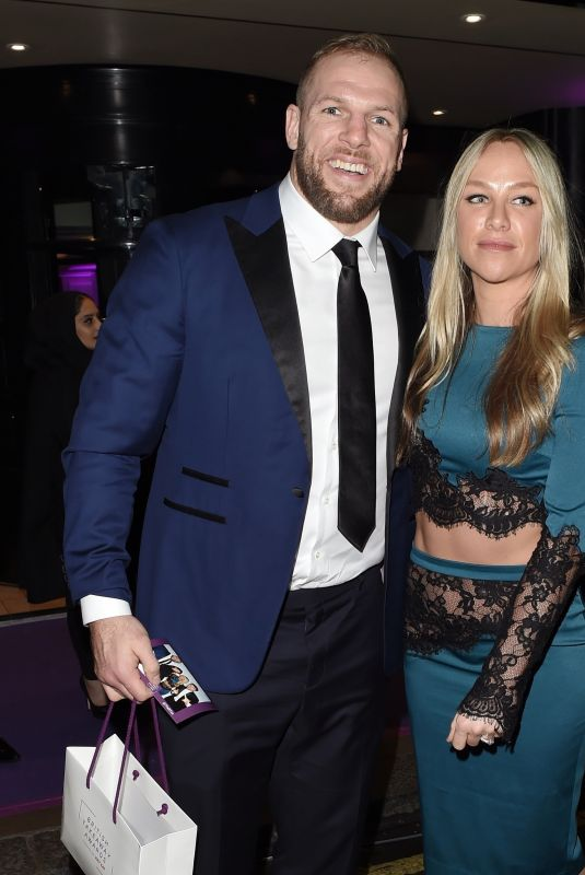 Chloe Madeley and James Haskell at The Takeaway Awards