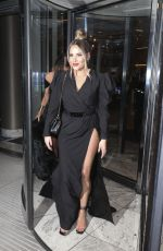 Chloe Sims and Georgia Kousoulou leaving the NTA afterparty at the Hotel Intercontinental