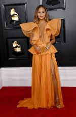 Chrissy Teigen At 62nd Annual Grammy Awards in Los Angeles