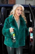 Christie Brinkley With Bottles of her Bellissima Prosecco at GDNY