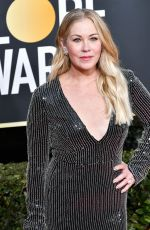 Christina Applegate At 77th Annual Golden Globe Awards in Beverly Hills