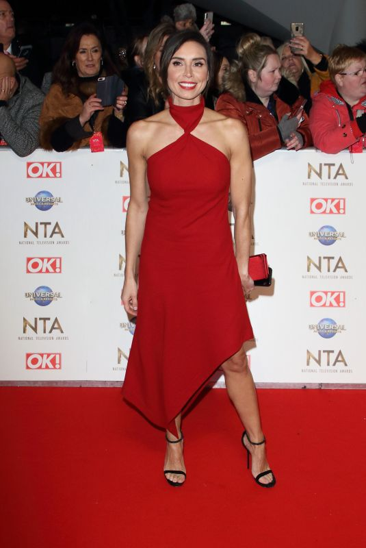 Christine Lampard At 25th National Television Awards, Arrivals, O2, London