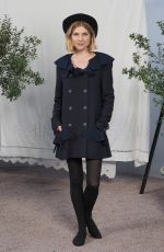 Clemence Poesy At Chanel show, Front Row, Paris, France