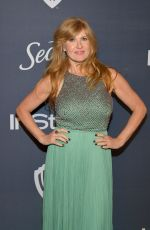 Connie Britton At Warner Bros. & InStyle Golden Globe After Party in Beverly Hills