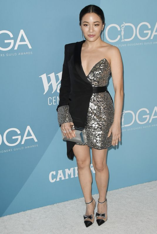 Constance Wu At 22nd CDGA (Costume Designers Guild Awards) in Beverly Hills