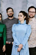 Cristin Milioti with Camila Mendes At Deadline Sundance Studio presented by Hyundai, Day 3, Park City