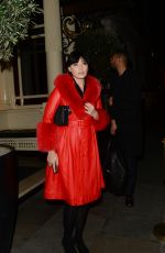 Daisy Lowe Pictured Exiting Rosie Huntington Whiteley launch