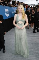 Dakota Fanning At 26th Annual Screen Actors Guild Awards in Los Angeles