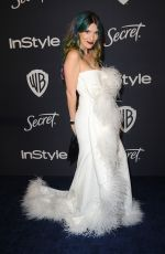 Dani Thorne At Warner Bros. & InStyle Golden Globe After Party in Beverly Hills
