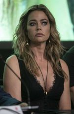 Denise Richards Attend the photocall Glow and Darkness in Madrid, Spain