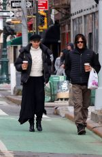 Diane Kruger & Norman Reedus go for a morning coffee run in Manhattan