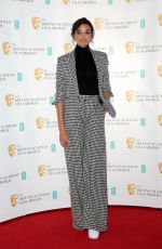 Ella Balinska During the BAFTA Film Awards Nominations Announcement 2020 photocall in London