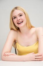 "Elle Fanning At ""The Great"" Press Conference at the Four Seasons Hotel in Beverly Hills"