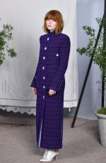 Ellie Bamber At Chanel Haute Couture Spring/Summer 2020 Show at Paris Fashion Week