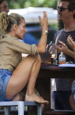 Elsa Pataky Seen at The Roadhouse Byron Bay in Byron Bay, New South Wales, Australia