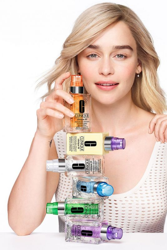 Emilia Clarke - Clinique iD 2020