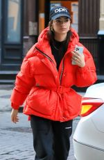 Emily Ratajkowski Out for lunch at The Odeon in NYC