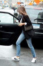 Emily Ratajkowski Pictured Stepping Out in New York City