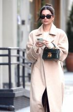 Emily Ratajkowski Steps out to run some errands in New York