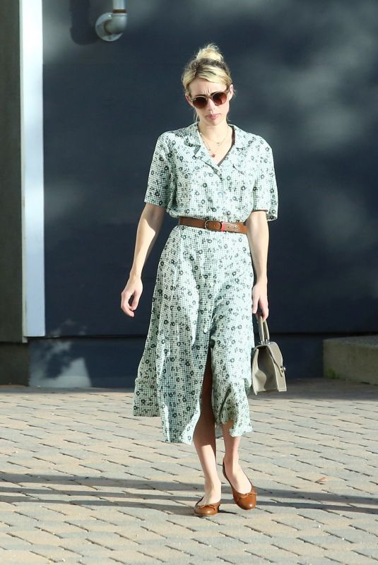 Emma Roberts At Shape House in LA