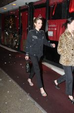 Emma Roberts Goes on a fun girls night out at Note Sushi in Sherman Oaks