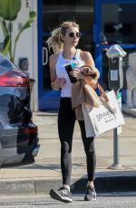 Emma Roberts Leaving a gym in West Hollywood