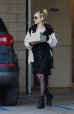 Emma Roberts Stop to pick up some cup cakes in Los Angeles